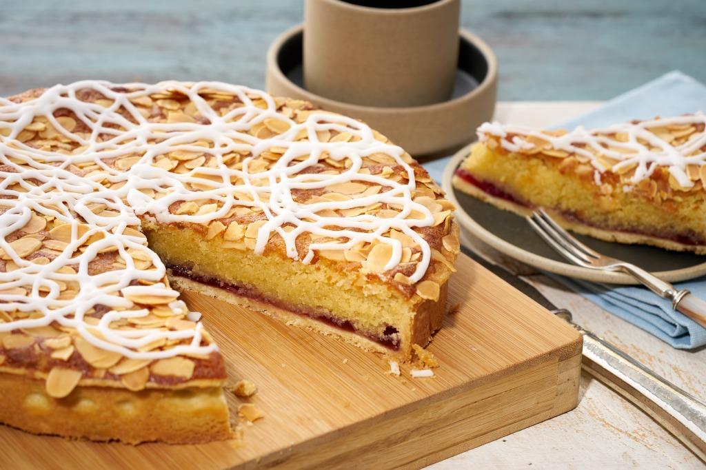 Bakewell tart - food photography